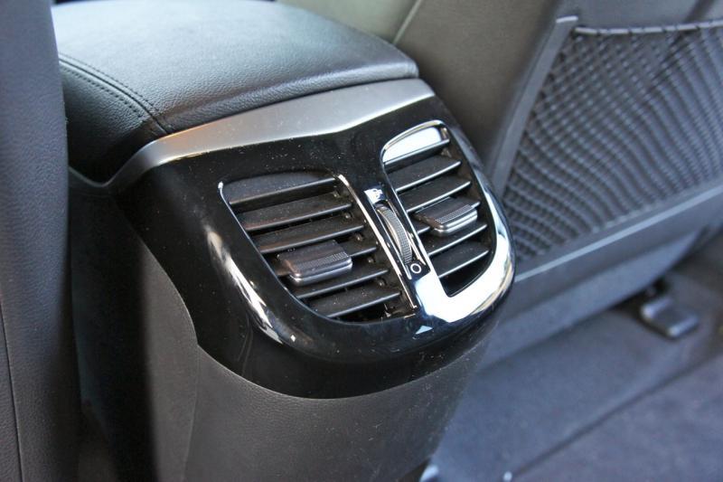 Вентиляция и обогрев для задних пассажиров - Фотогалерея клуба Hyundai i40