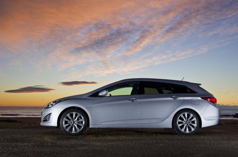 Hyundai i40 серебристый металлик